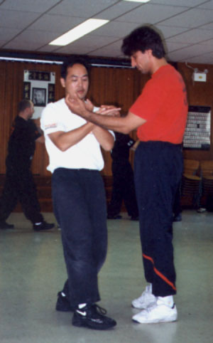 Chris with WT Master Emin Boztepe