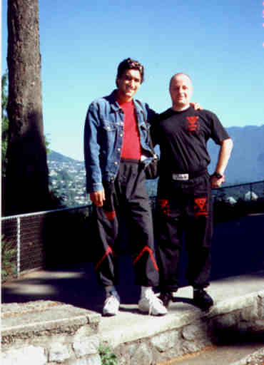 Sifu Emin Boztepe in Vancouver with Ralph Haenel, founder of the first Canadian WT branch