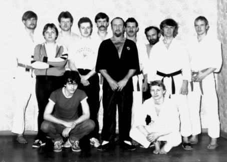 First ever Wing Tsun seminar in East Germany 1985 in Rostock with Sifu Leo Czech, organized by Ralph Haenel