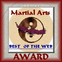 United Combat Arts Best of the Web Award