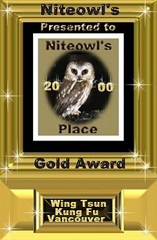 Jack and Linda's Niteowl's Place Gold Award
